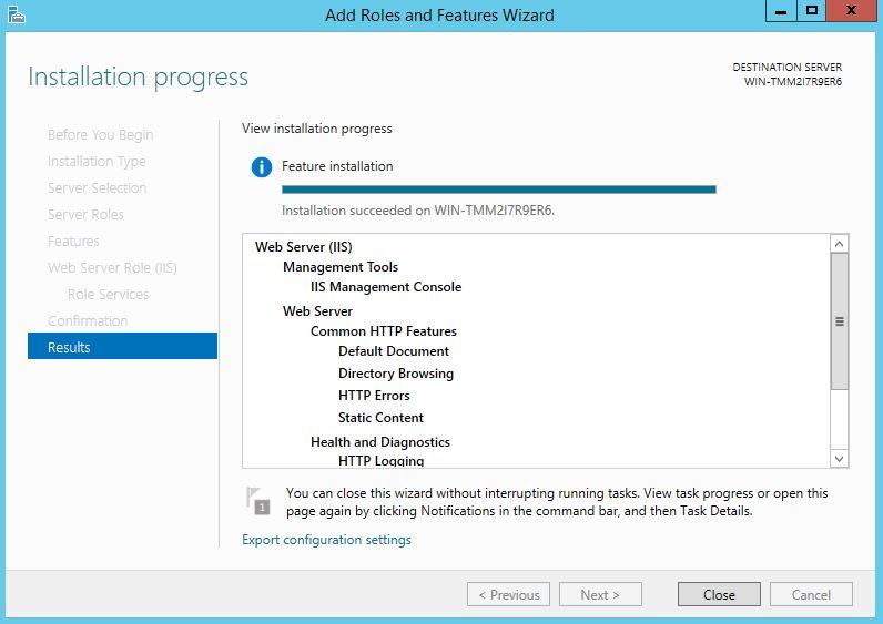 آموزش نصب وب سرور iis در ویندوز سرور