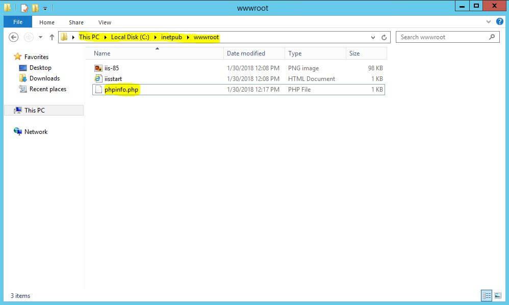آموزش نصب php در ویندوز