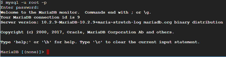 آموزش نصب mariadb