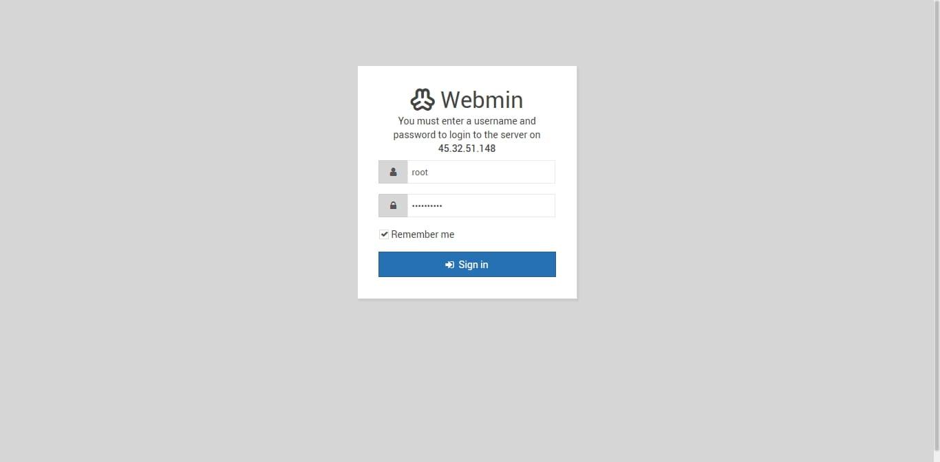 آموزش نصب webmin در سنتوس 7