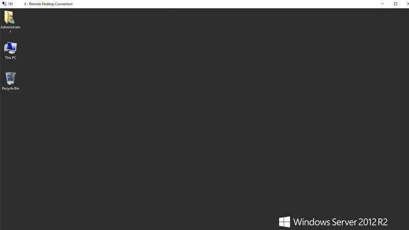 ریموت به سرور ویندوز 2012